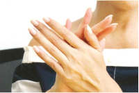 手をきれいに保つ
