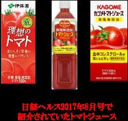 美肌づくりにトマトジュース