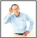 シニアの難聴は認知症リスク